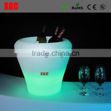 Bar led ice bucket plastic ice bucket illuminated GH206