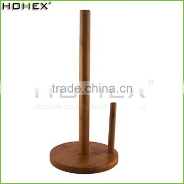 100% Natural Green Bamboo Paper Towel Holder /Homex_BSCI