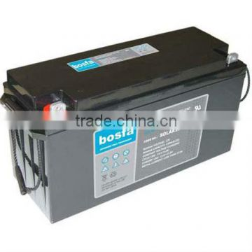 waterproof agm battery 12v150ah solar battery cycle for storage