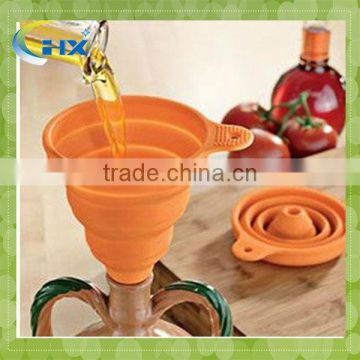 MA-134 2013 Hot Sell Silicone Funnels