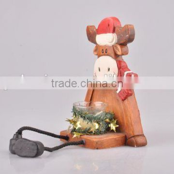 Home Decoration Candlestick/Ceramic Deer Candle Holder