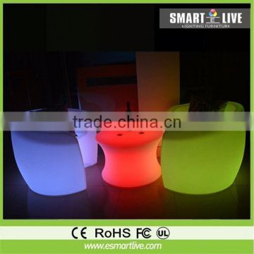 cube seat for sales color change for event led cockail table