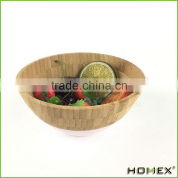 Wholesale Salad Bowl mad of Bamboo Homex BSCI/Factory