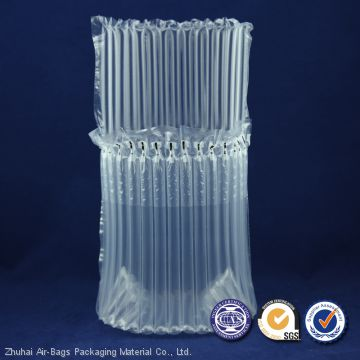 High quality container inflatable air bubble column bag for wine packaging bags
