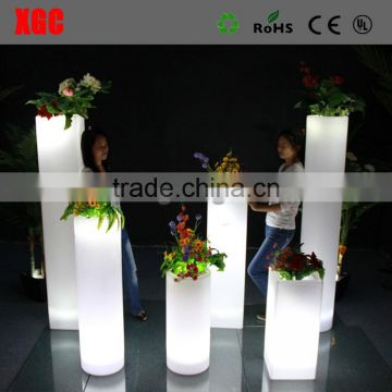 GD211 total 16 color changable led columns pillars with RGB colors