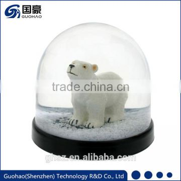 Custom Polar bear water globe