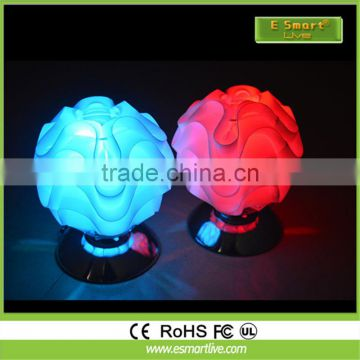 Power Hotel Small Table Lamp PE LED Table Lamp For the wedding