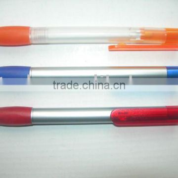 Top plastic ball point pen