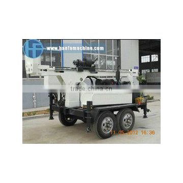 Best-selling! HF150T trailer type DTH drilling rigs