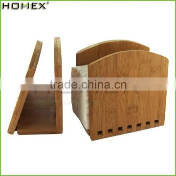 2017 Hot Bamboo Wooden Adjustable Paper Towel Holder/Homex_BSCI