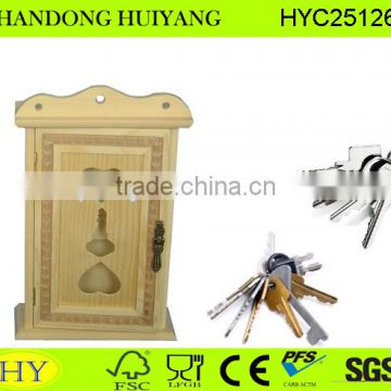 home decoration handmade wooden key safe box