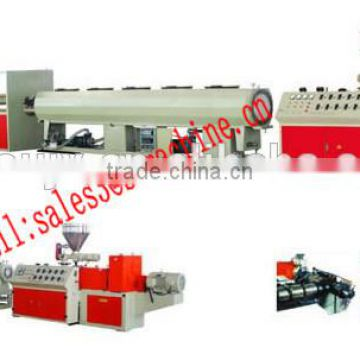best price china supplier 160-250mm pvc pipe extrusion line