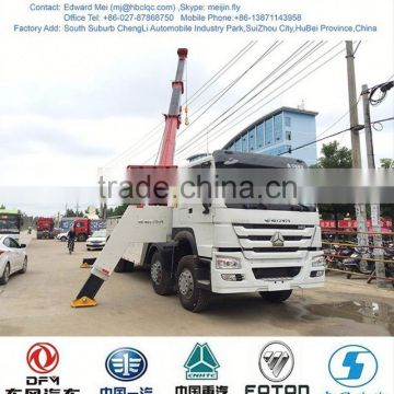 Howo heavy duty wrecker truck, heavy wrecker
