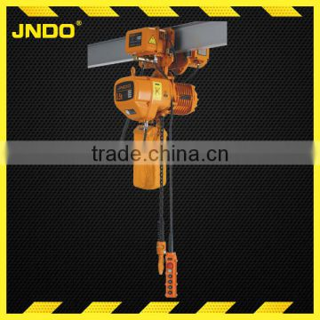 New design small 500kg electric chain hoist with trolley