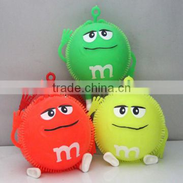 2015 New Style Inflatable Toys/Flash Puffer Ball/ Vent ball