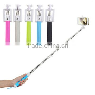 Fashionable mini monopod , wireless extendable portable mini camera tripod selfie stick