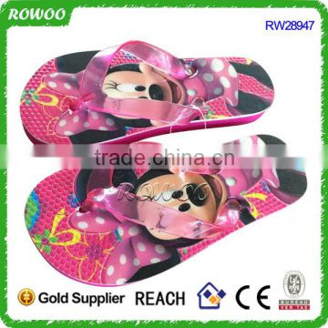 Kids very cute animal slippers mouse mini shoes,beach flip flops slippers