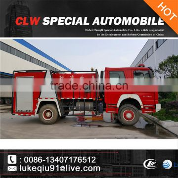 factory cheap price 5-10cbm fire apparatus truck for sales