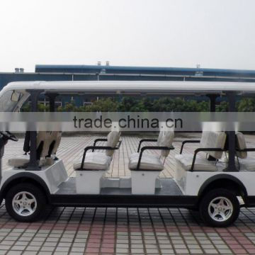 Chinese competitive price electric tourist shuttle bus