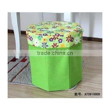 Small multi-function folded storage box stool/Stool Chair