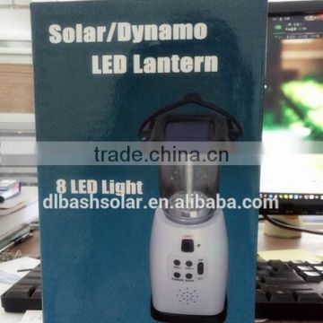 power emergency crank solar lantern FM Radio solar