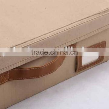 rectangular folding canvas with cover storage box