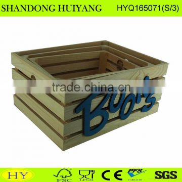 2016 new decorative wooden tray wholesale