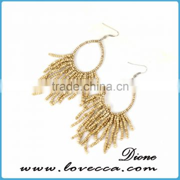 Small MOQ Wholesale Japanese seed beads earring
