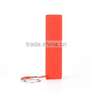 2800mah power bank perfumer style portable mobile phone charger
