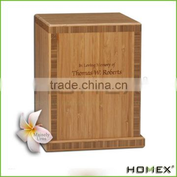 Bamboo Eco Friendly Cremation Urn Homex BSCI/Factory