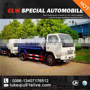 chinese high quality 5000liters 4x2 mini water tank truck for sales