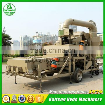 5XZF Combine mobile wheat seed cleaning machine