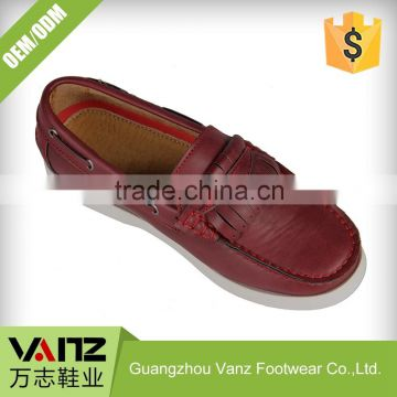 Boys Fashion Quality Assured Pu Leather Casual Boat Shoes
