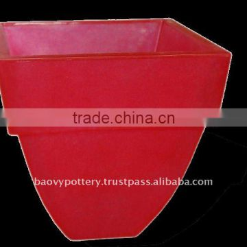 AAF Fiberglass lighting pot, fiberglass with light