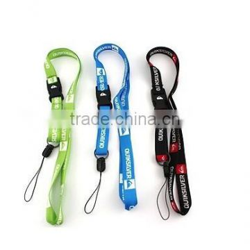 wholesale high quality lanyard reflective lanyard with logo