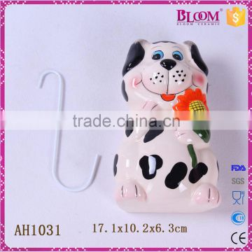 cute animal shape ceramic small hanging air humidifier