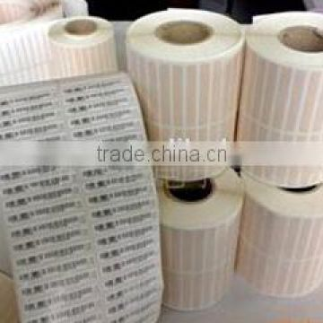 Polyimide labels suitable for heat transfer printing