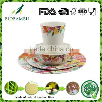 Good quality Hot selling Best design bamboo fiber Chinese kitchenware