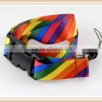 Rainbow Stripes Lanyards, ID card holder, Neck Strap Lanyard, Phone Neck Strap