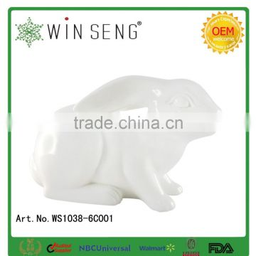 newest and high quality of the ceramic home decoration with the rabbit design for