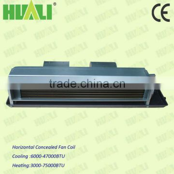 Horizontal Concealed Chiller Water Fan Coil For Comerses,Ducted Type Fan Coil