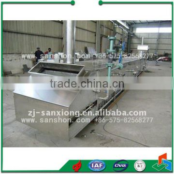 Sanshon Fuit and Vegetable LPT Model Chain Type Blancher Equipment