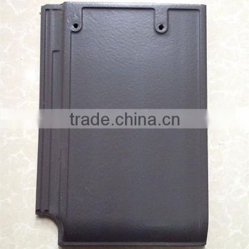 Yixing best selling ceramic coated roofing tiles, european solar roofing tile
