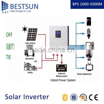 BESTSUNPG series high frequency modified sine wave home inverter/inversor 1kva/600w 2kva/1200w