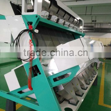 high sorting accuracy canadian lentil color sorter machine