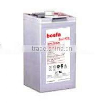 SL2-420 2v420ah industrial battery 2v 420ah 30v battery 2v deep cycle lead acid battery