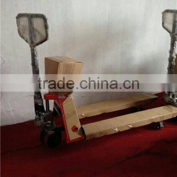 High capacity 3ton hydraulic equip displayer pallet truck