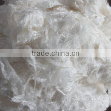 High quality 100% raw bamboo charcoal viscose spun fiber for medical use 1.5D*38mm with low prices