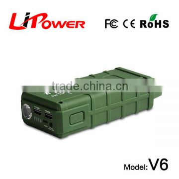 mini size 14000mAh 12v rc car battery car jump starter power bank Type car booster with clips