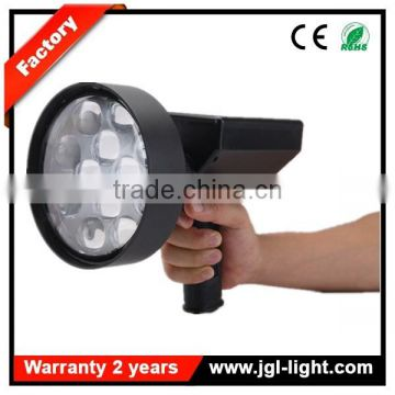 Super bright Powerful 36W LED Handheld Spotlight Aluminium Rechargeable LED Marine Searchlight